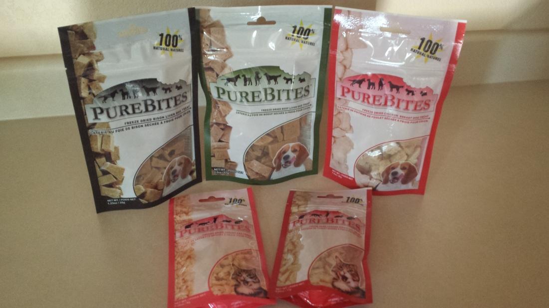 PureBites dog and cat treats