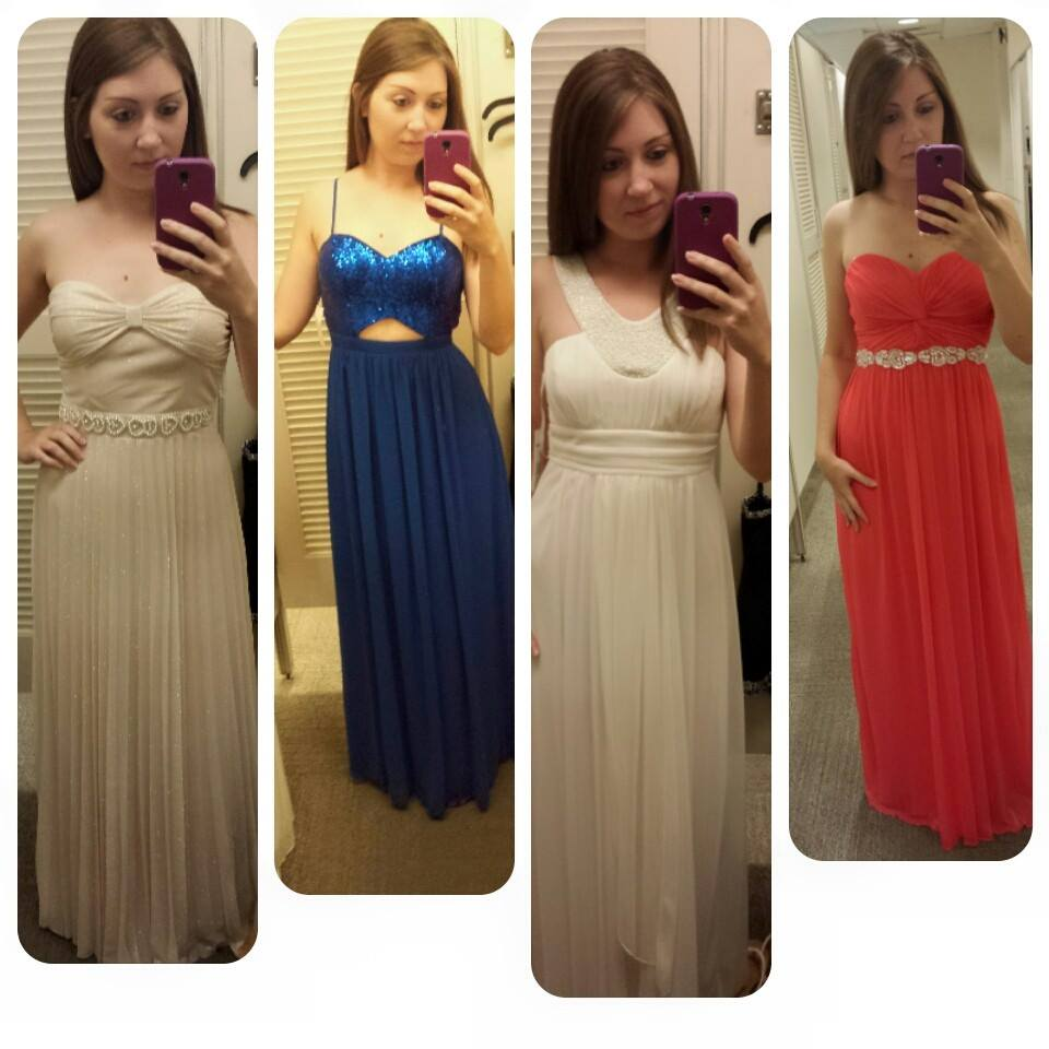 The final four dresses!