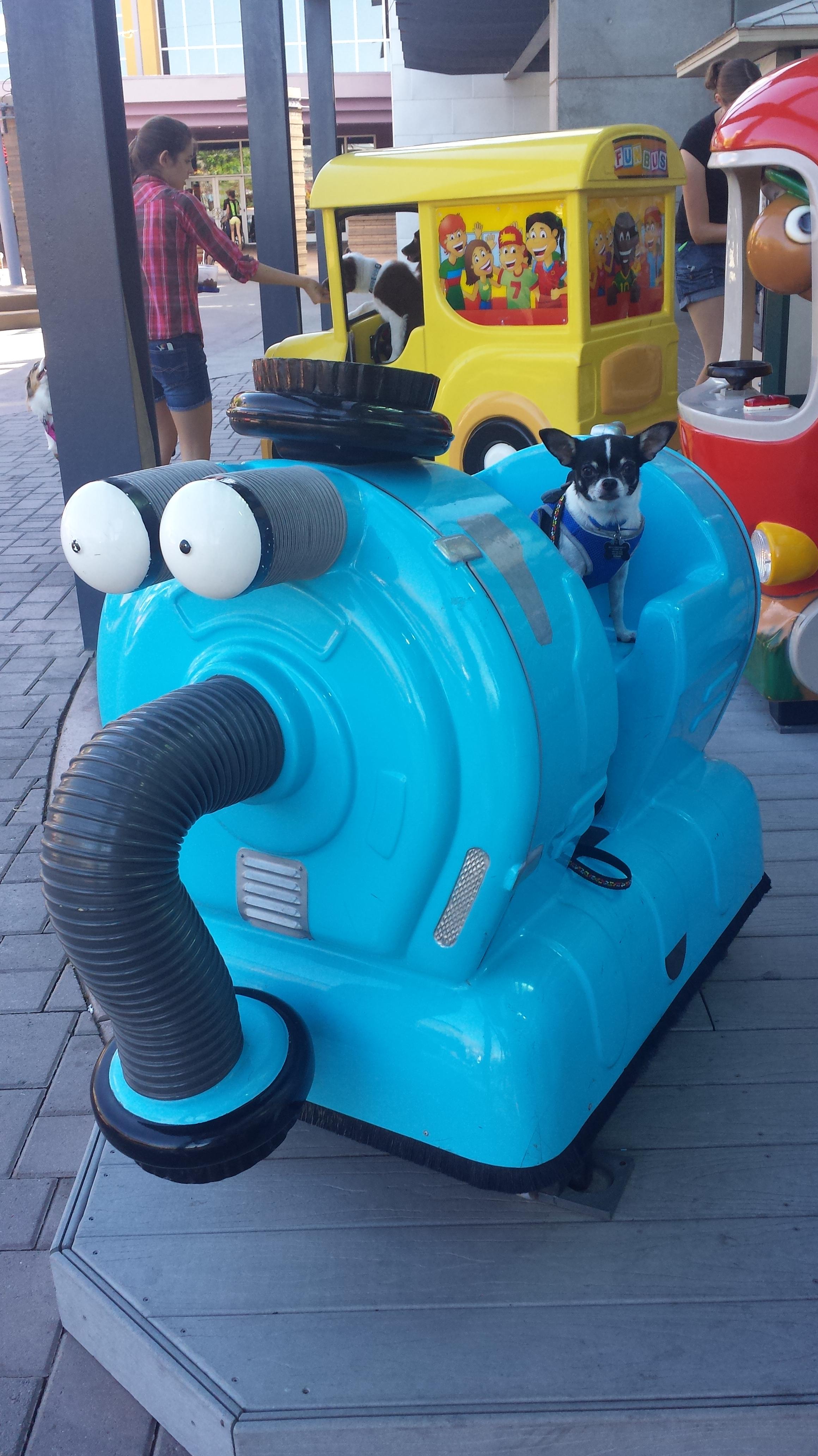 The Teletubbie vacuum.