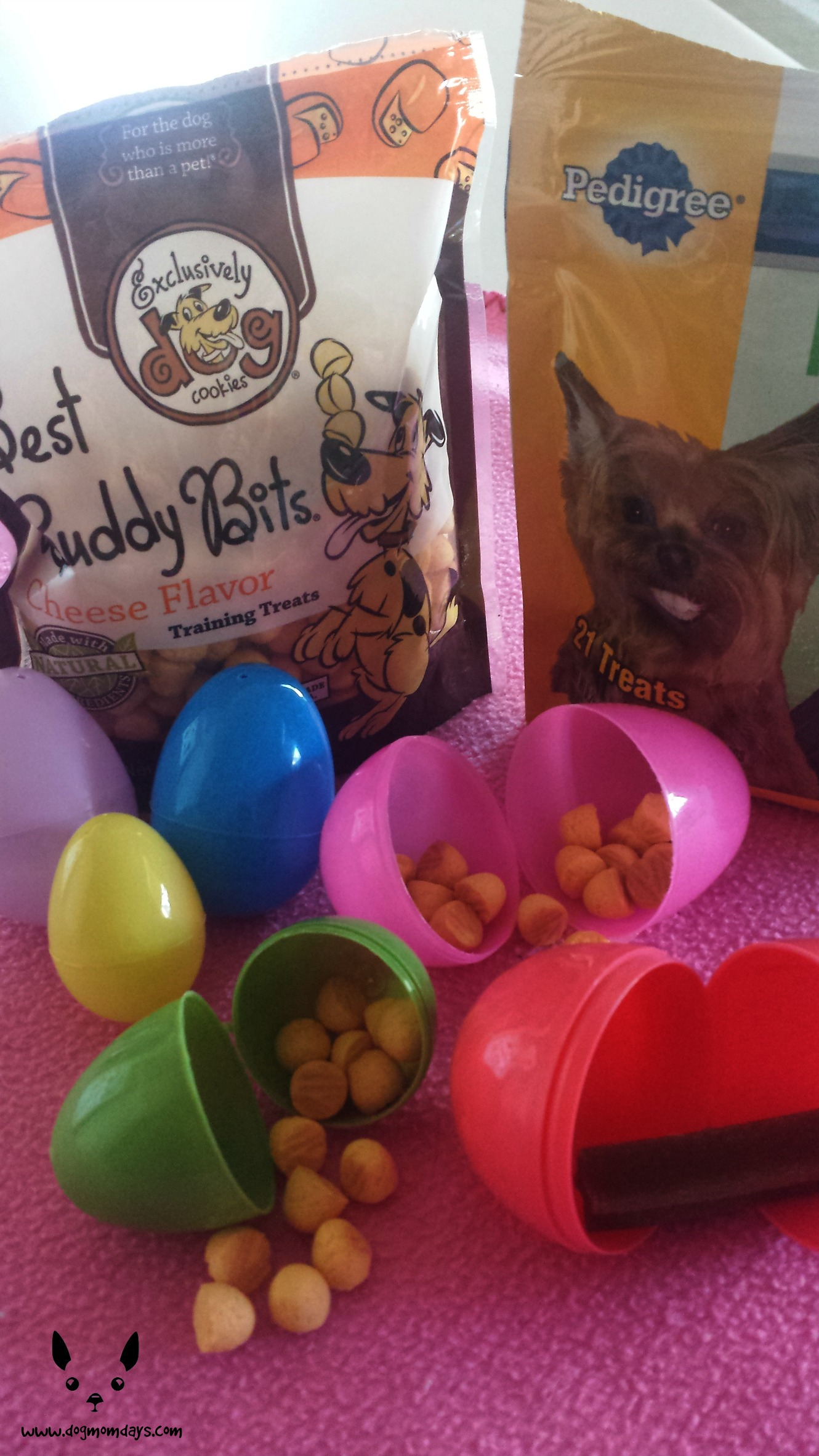 Dentastix and Best Buddy bits for your DIY Easter Basket.