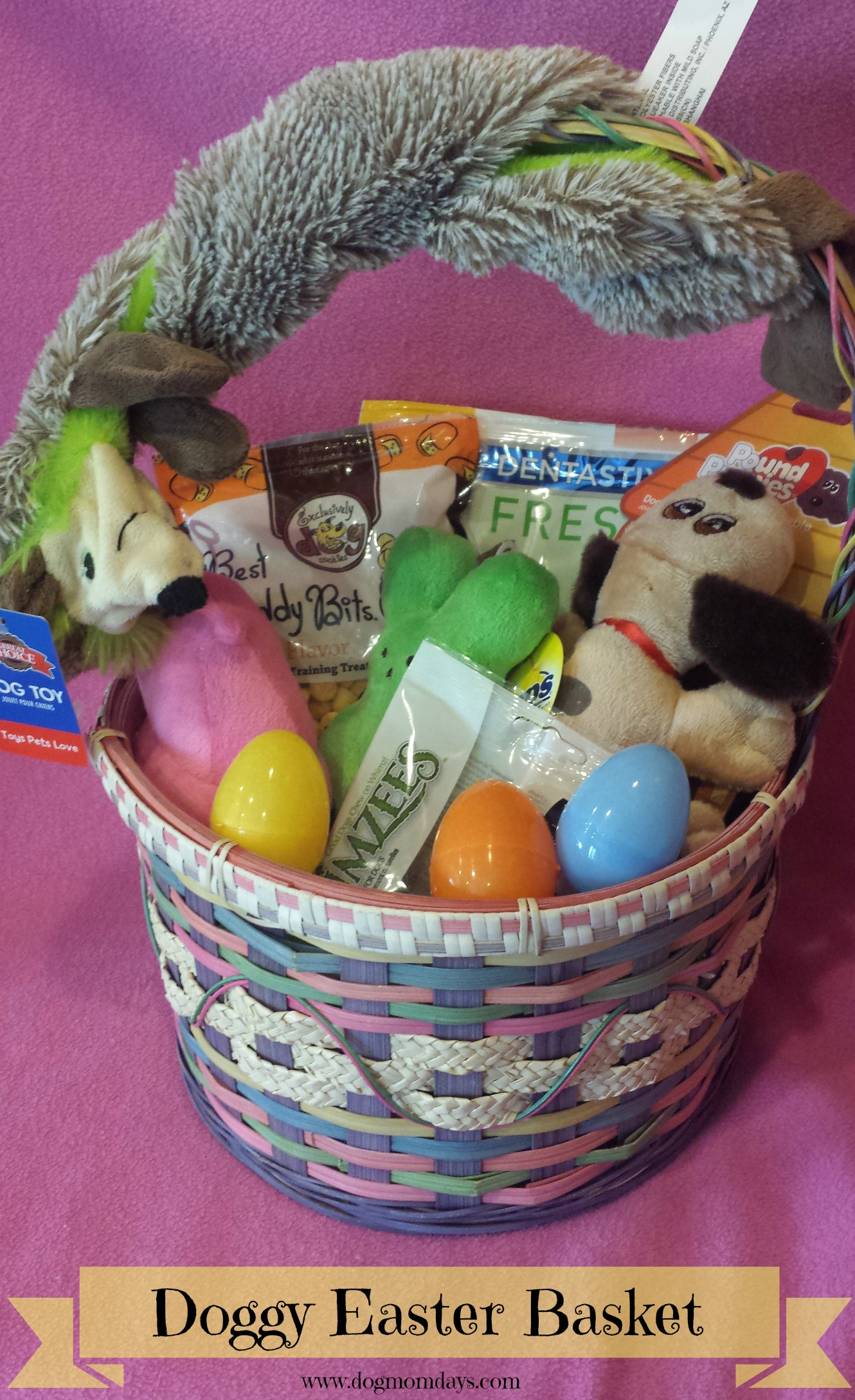 DIY Doggy Easter Basket