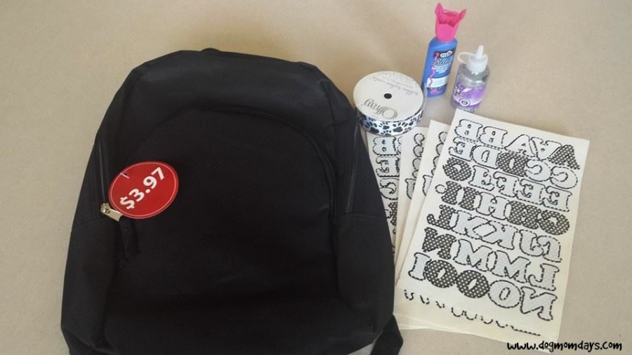 DIY rescue mom backpack