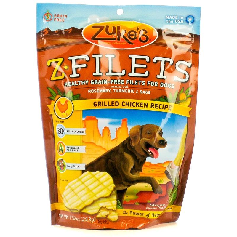 Zuke's Z-filets grilled chicken recipe.