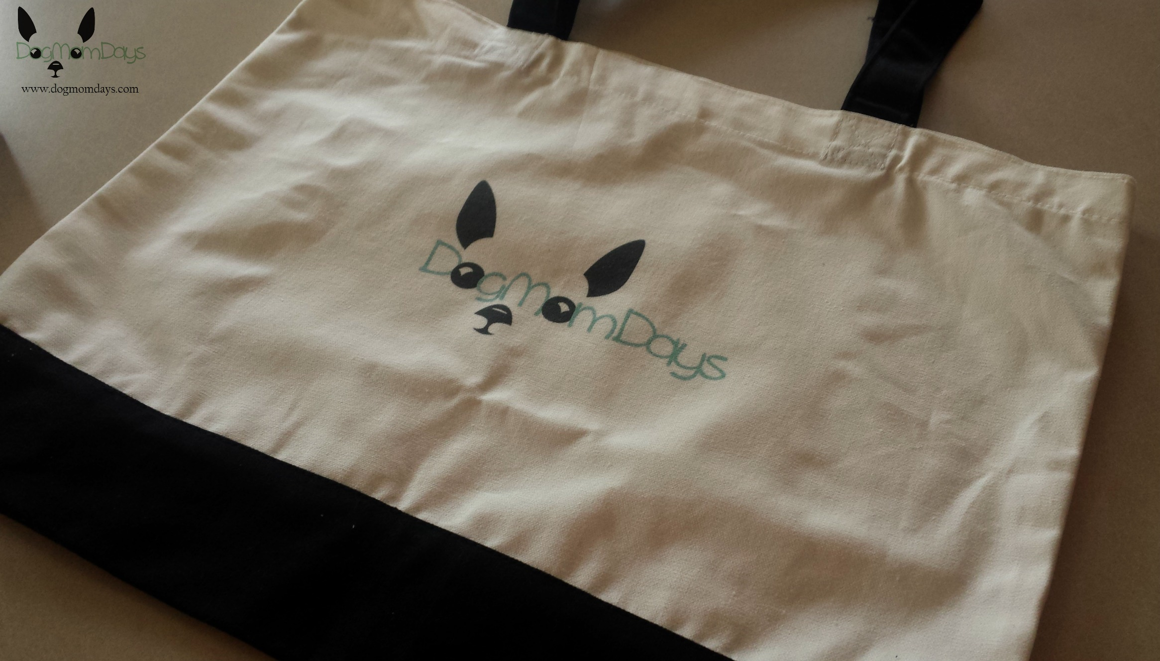 The tote bag that I custom ordered just for the conference! I'll need it to lug around notebooks, Wynston's things, business cards and everything else needed at a conference!