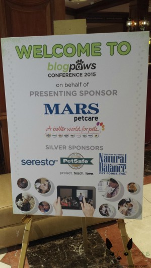 Mars Petcare is the main sponsor of this year's conference.