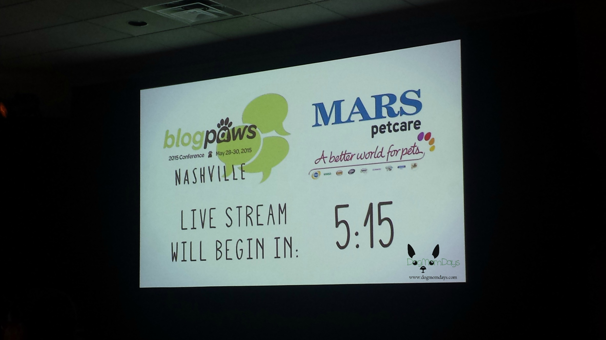 The opening remarks were live streamed tonight!
