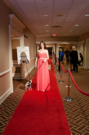 BlogPaws red carpet