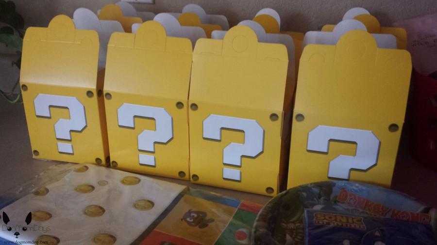 Mario goody boxes
