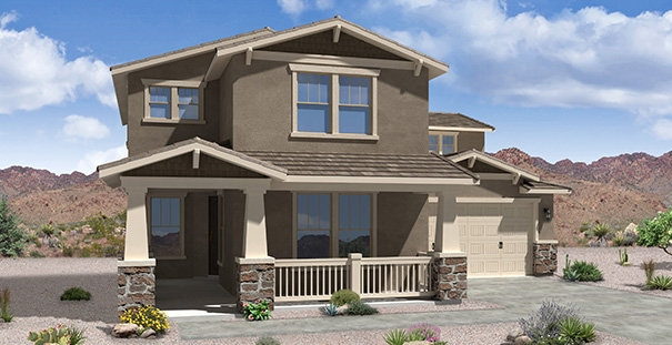 Meritage homes model house