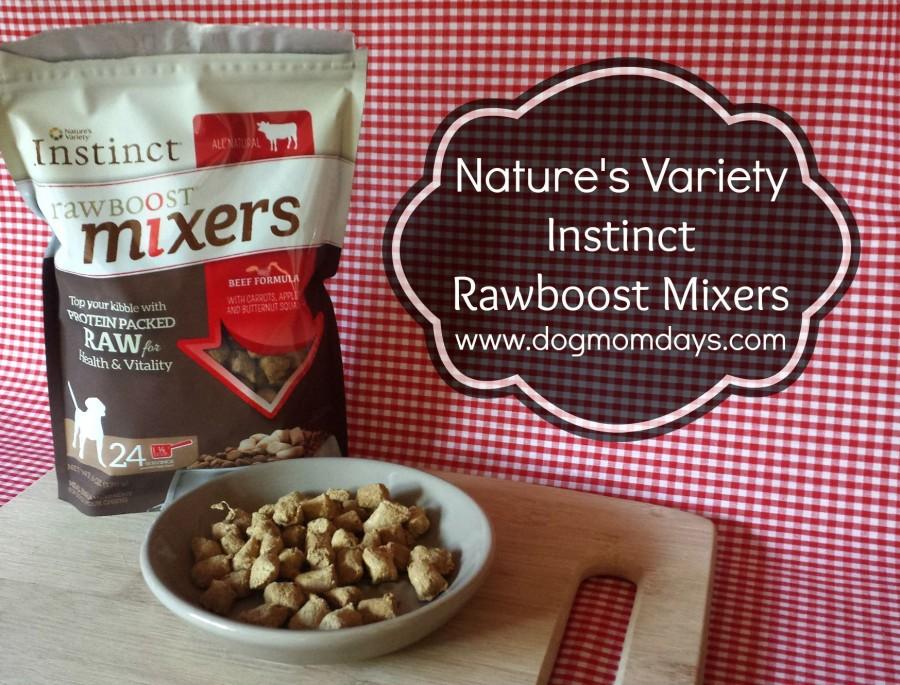 Nature's Variety Instinct Raw Boost Mixers