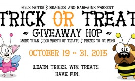 Learn tricks, get treats! It's the Trick or Treat Giveaway Hop!  #TrickorTreatDogs
