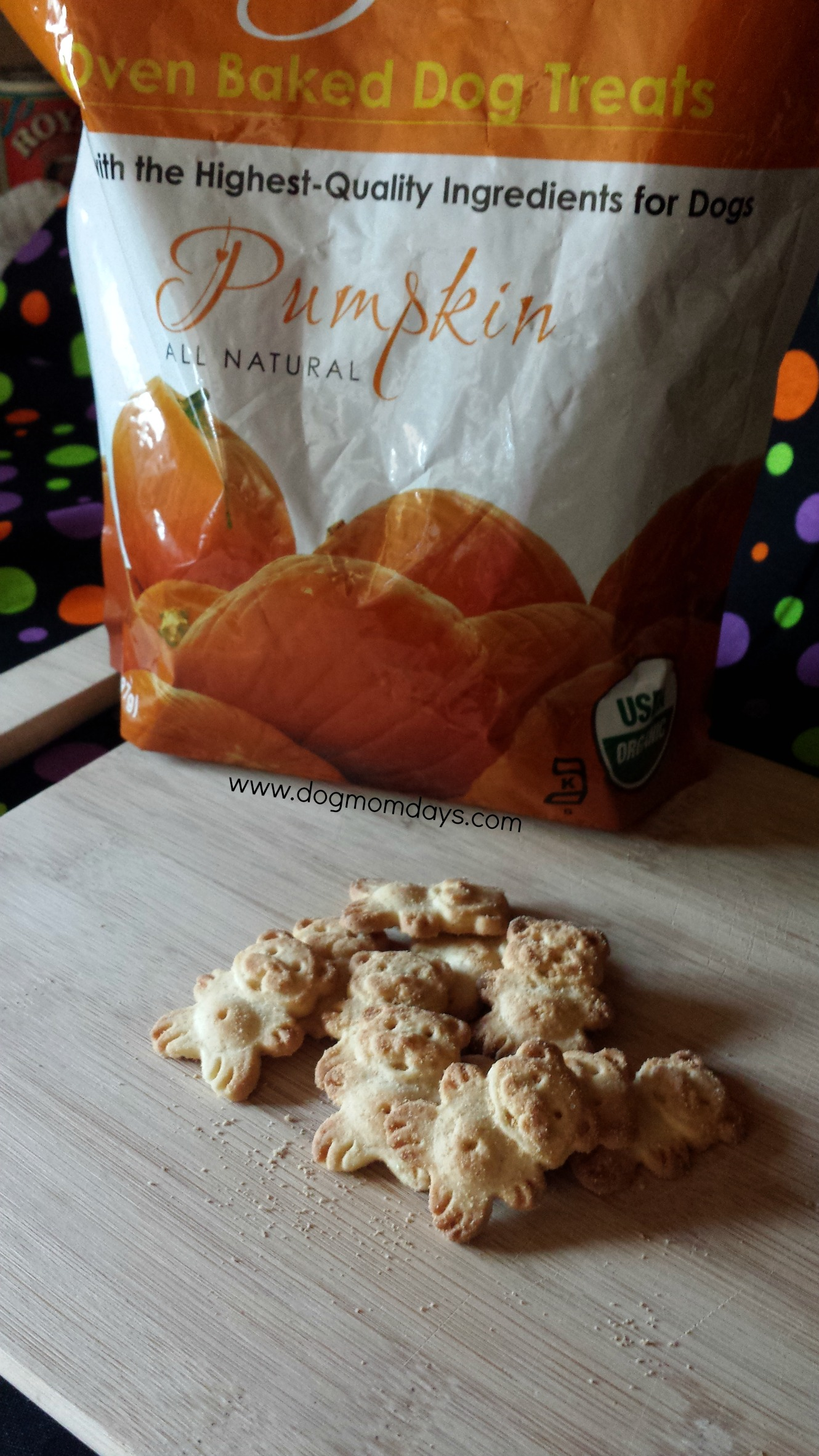 Grandma Lucy's Organic Baked Pumpkin Dog Treats Product Review