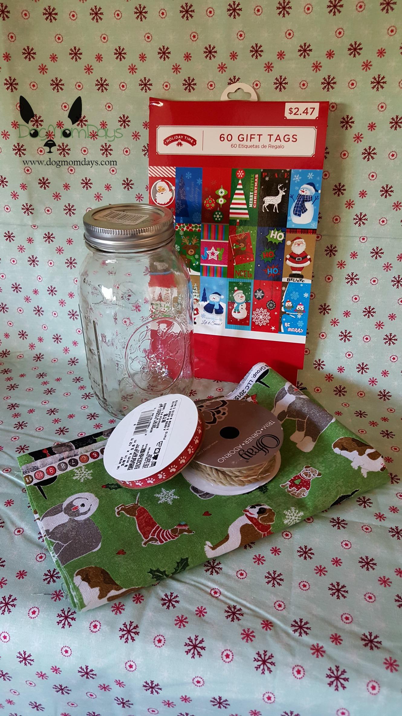 DIY treat jar Natural Balance