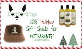 Dog Mom Days 2015 Holiday Gift Guide for Pet Parents!