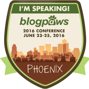 BlogPaws 2016 Conference speaker