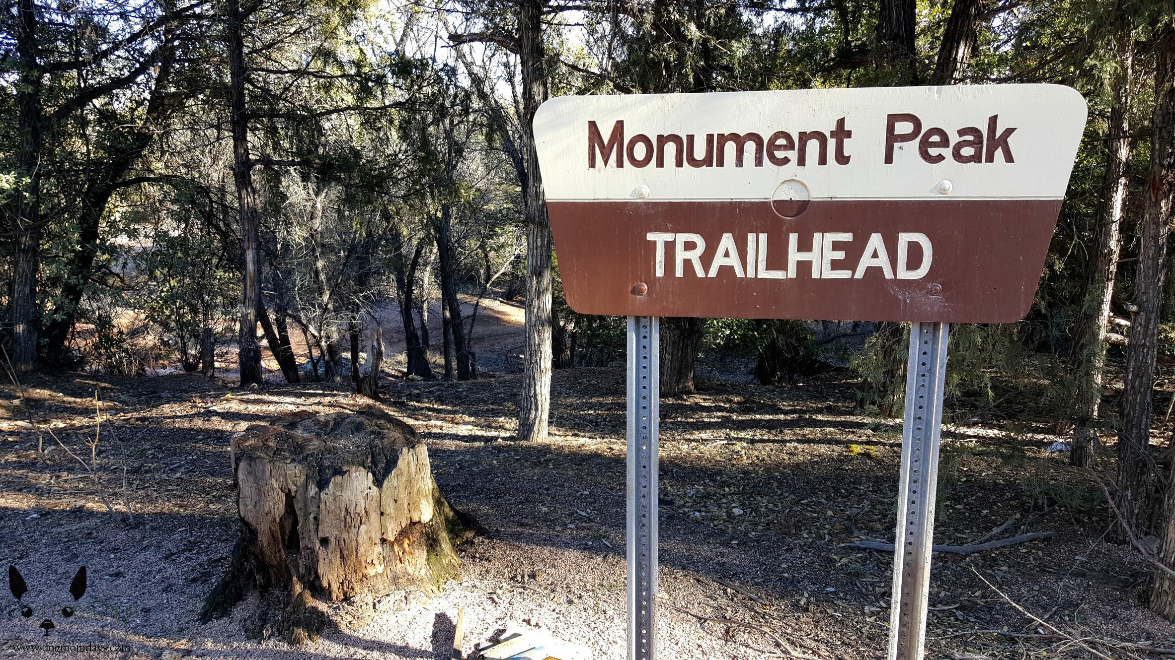 Monument Peak trailhead