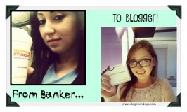 From banker to blogger