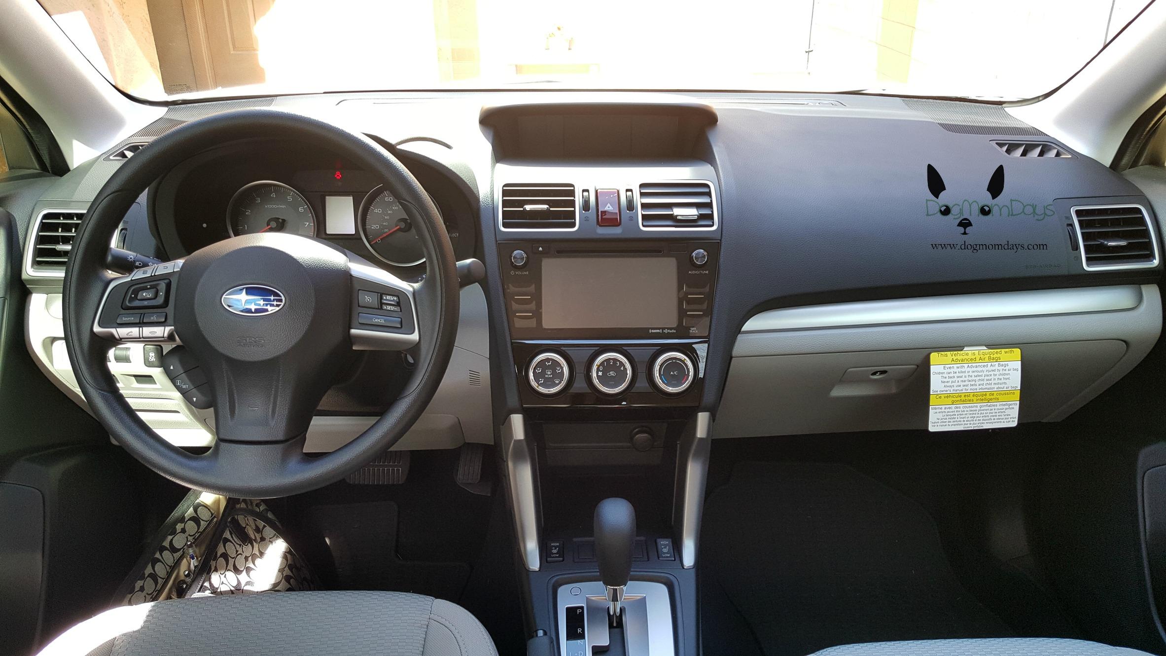 2016 Subaru Forester premium interior