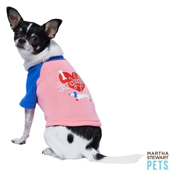 Valentine's shirt Martha Stewart Pets PetSmart