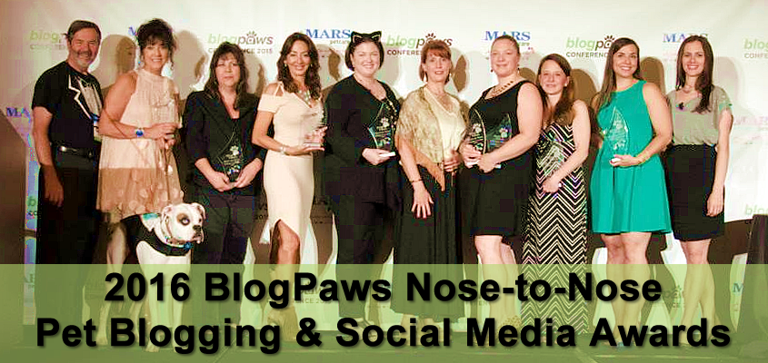 2016 BlogPaws Nose-to-Nose awards