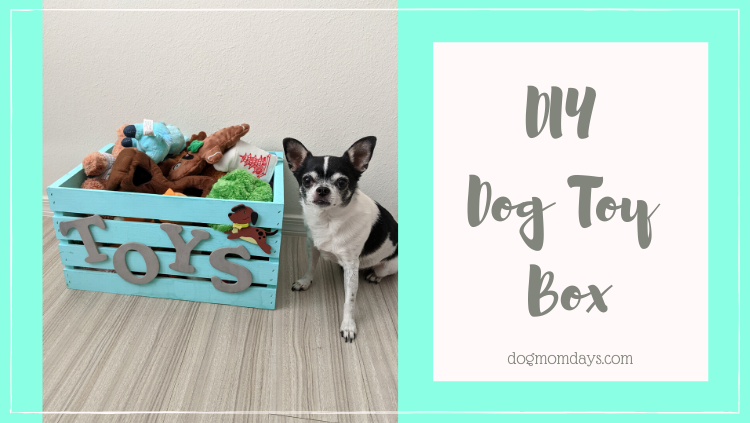 DIY dog toy box
