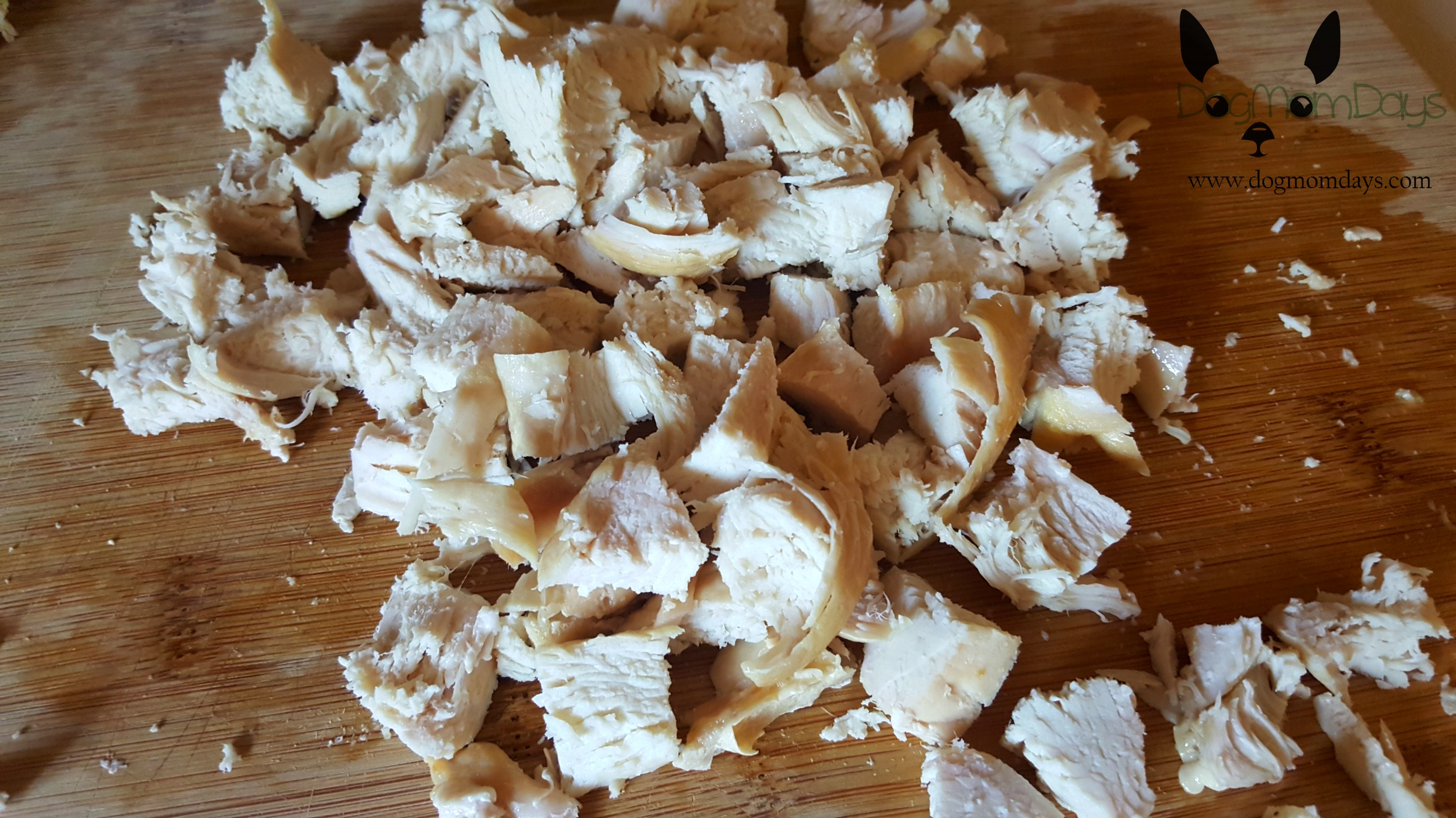 DIY chicken salad for dogs