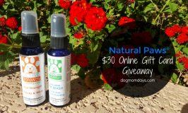 Holistic Remedies for Paws, Ears and Itch Relief: Natural Paws Review and #Giveaway!