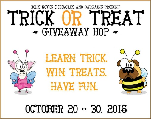 Turn Tricks for Treats with the Trick or Treat Giveaway Hop #TrickorTreatDogs