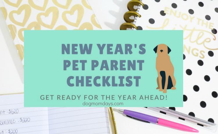 pet parent checklist