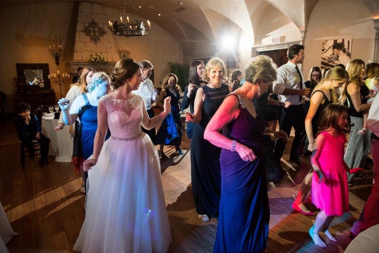 Everyone had a blast dancing all night!