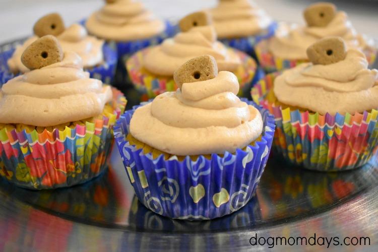 DIY doggy cupcakes