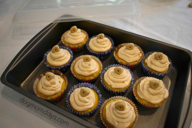 DIY doggie cupcakes