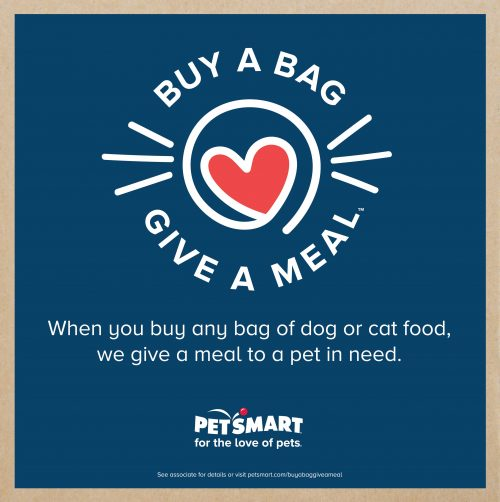 PetSmart Buy a Bag, Give a Meal