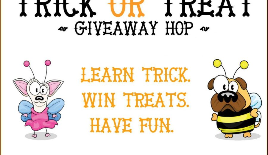 Teach Your Pup to be Sassy in the 2017 Trick or Treat Giveaway Hop