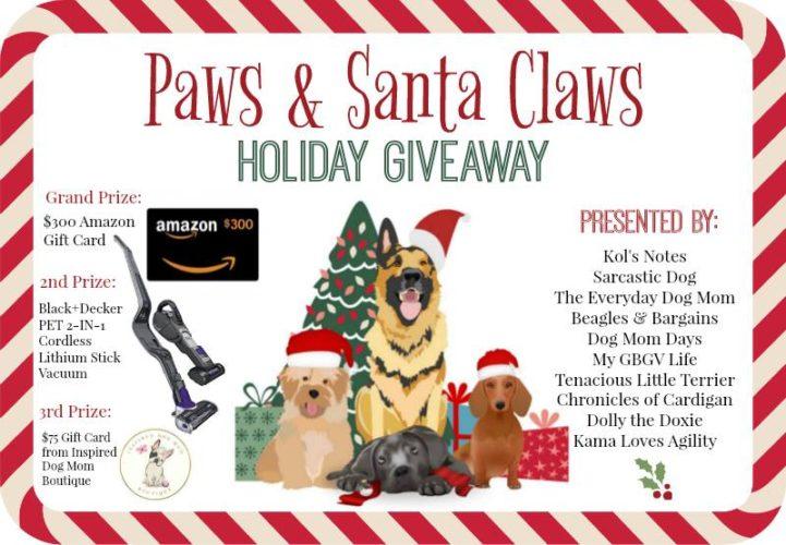Paws & Santa Claws holiday giveaway