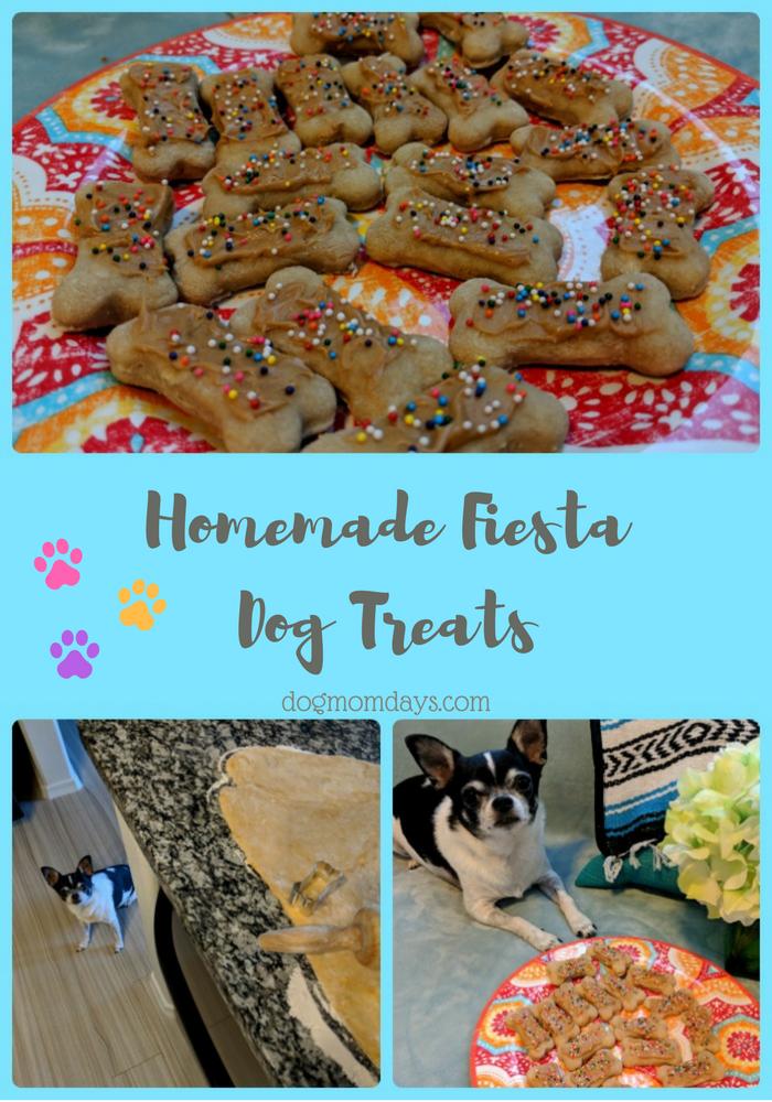 homemade fiesta dog treats