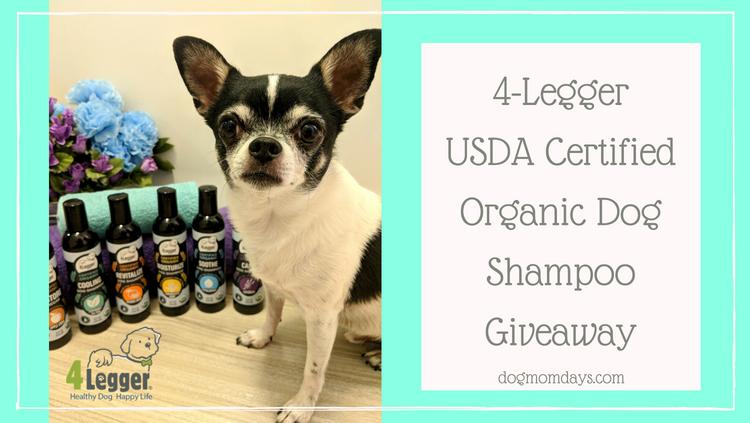 4-Legger USDA Certified Organic Dog Shampoo