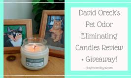 David Oreck's Pet Odor Eliminating Candles review