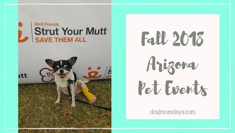 Fall 2018 Arizona Pet Events