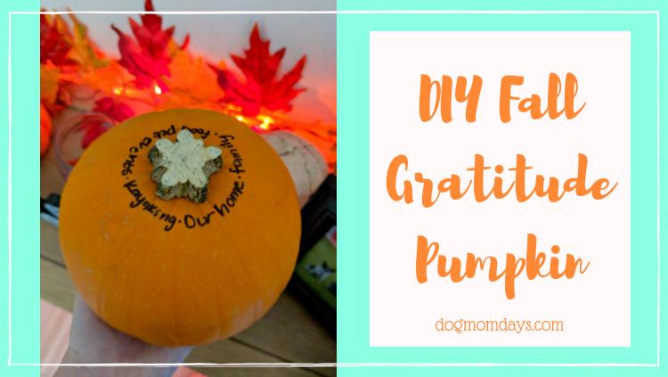 DIY Fall Gratitude Pumpkin