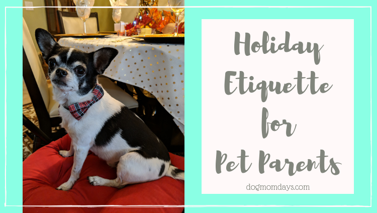 holiday etiquette for pet parents