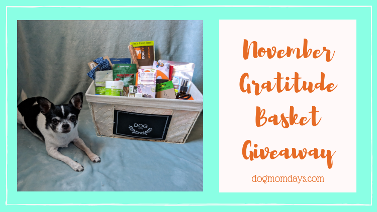 November Gratitude Basket Giveaway