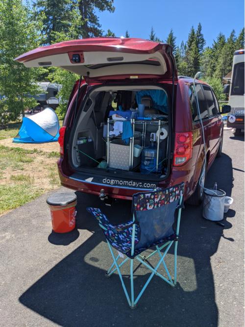 minivan camper conversion