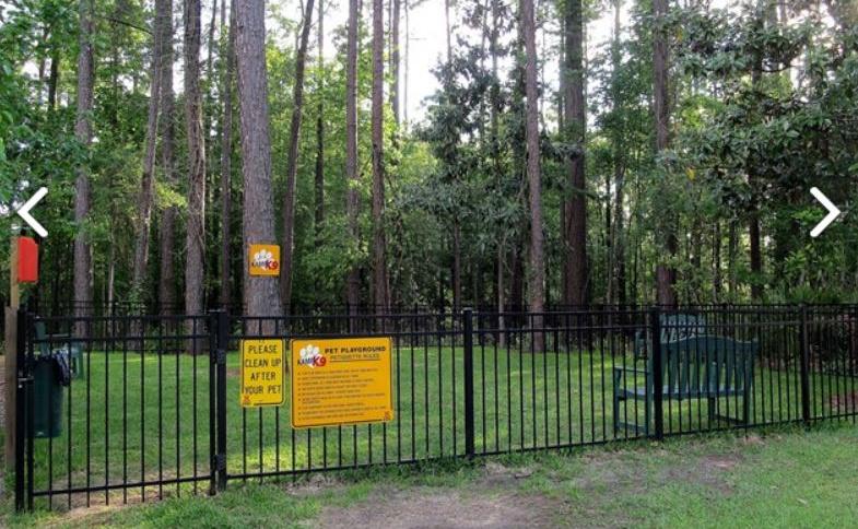 Kamp K9 dog park KOA